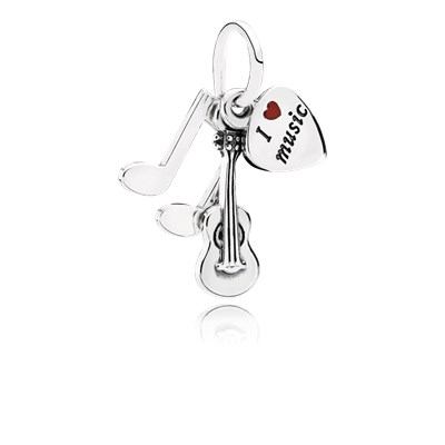 Pandora Love Music Originale Argento 791504EN09