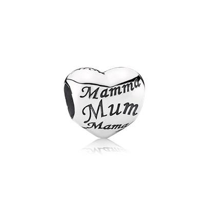 Pandora Mamme Del Mondo Originale Argento 791112