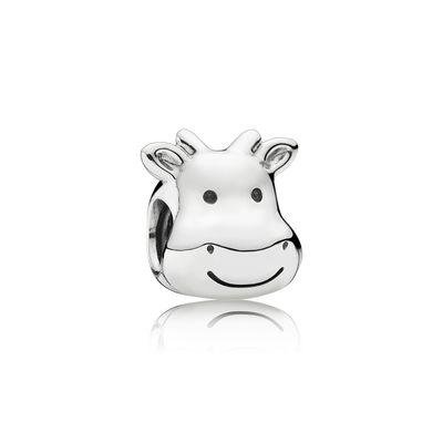 Pandora Mucca Simpatica Charm Originale Argento 791748