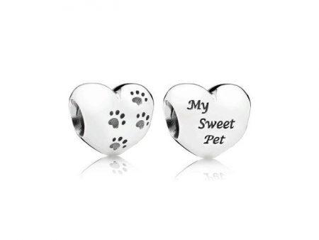 Pandora My Sweet Pet Charm Originale Argento 791262