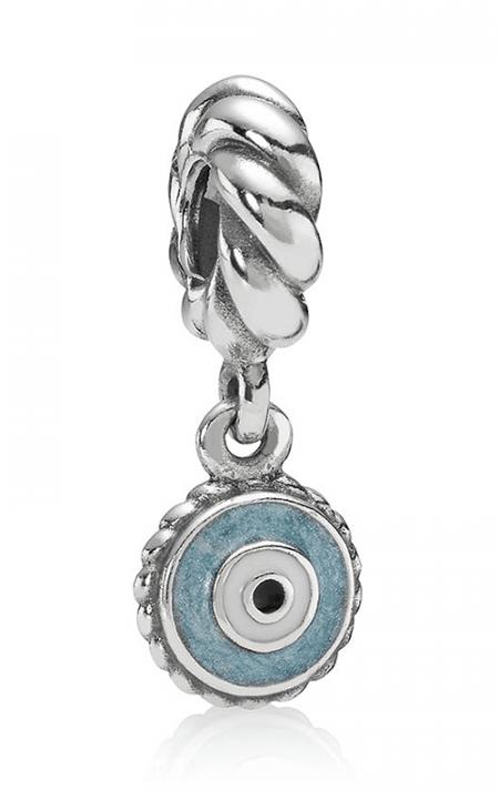 Pandora Occhio Azzurro Charm Originale Argento 790529EB