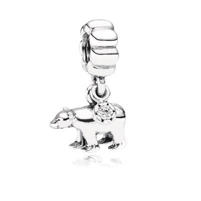 Pandora Orso Polare Charm Originale Argento 791029CZ