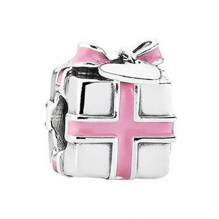 Pandora Pacchetto Regalo Rosa Charm Originale 791132EN24