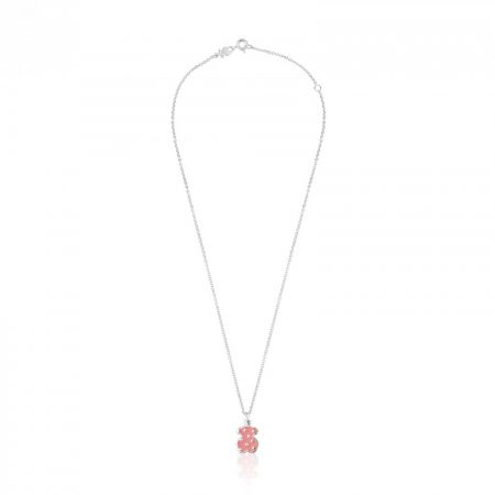 Collanina Tous Orsetto Rosa Argento Sterling 925 612634630