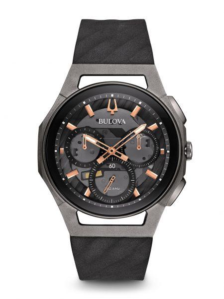 Orologio Bulova Curv 98A162 Cronografo Uomo Titanio