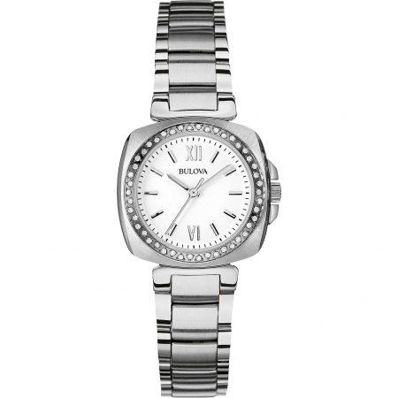 Orologio Bulova Diamond 96R200 Diamanti Acciaio Donna