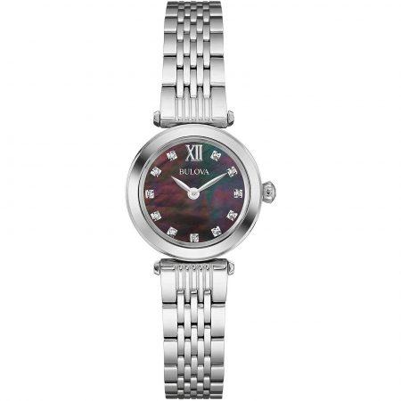 Orologio Bulova Diamond 96S169 Diamanti Acciaio Donna