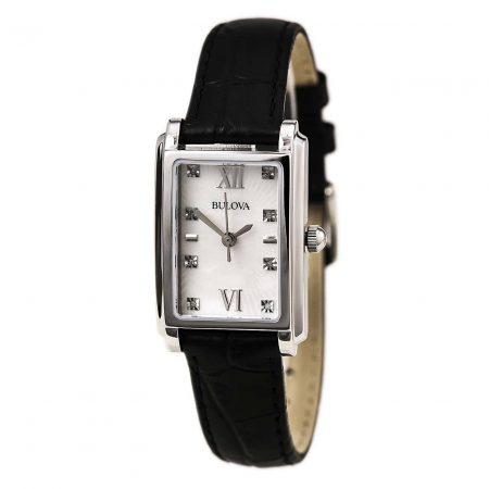 Orologio Bulova Dress 96P156 Madreperla Diamanti Donna