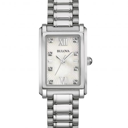 Orologio Bulova Dress 96P157 Madreperla Diamanti Donna