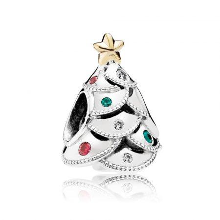 Pandora Albero Di Natale Charm Originale Argento 791999CZRMX