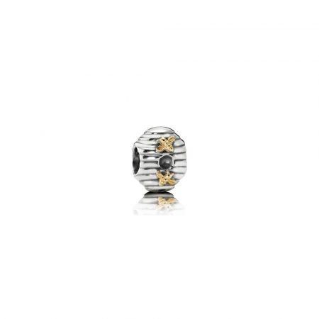 Pandora Alveare Charm Originale Oro 14k Argento Sterling 790577