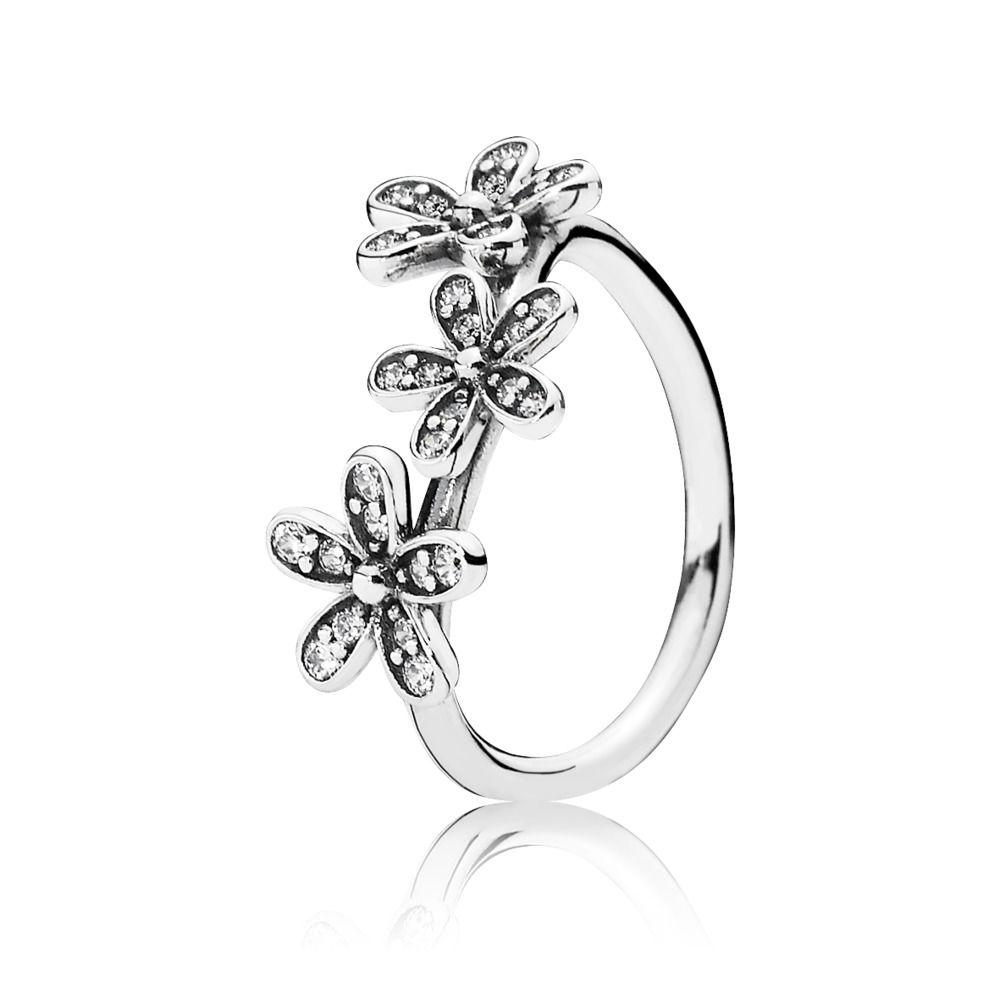 anello fiori pandora