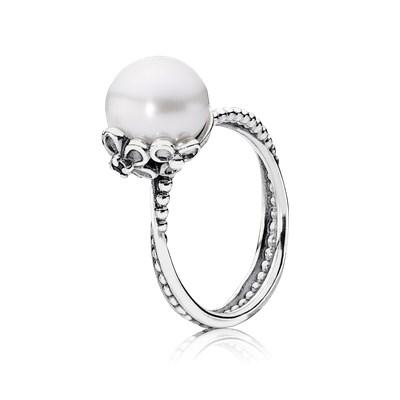anello perla pandora