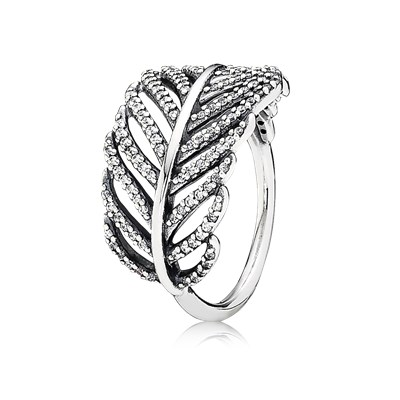 pandora anello foglie