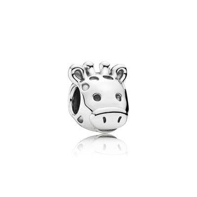 Pandora Charm Giraffa Elegante Originale Argento Sterling 791747