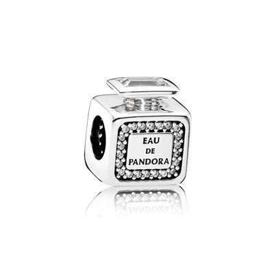 Pandora Charm Profumo Inconfondibile Originale Argento 791889CZ
