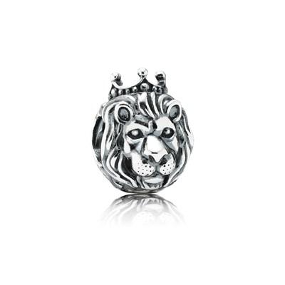 Pandora Charm Re della Giungla Originale Argento Sterling 791377