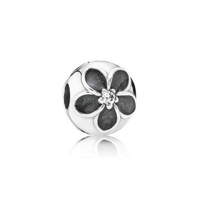 Pandora Clip Magia Floreale Charm Originale Argento 791408CZ
