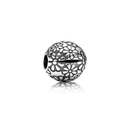 Pandora Clip Margherite Charm Originale Argento 791013