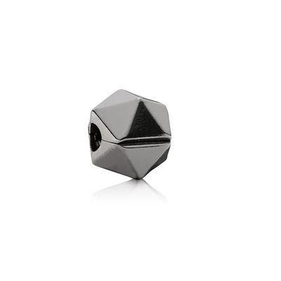 Pandora Clip Rock Star Rodiata Nera Charm Originale Argento 791004BR