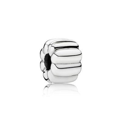 Pandora Clip a Coste Charm Originale Argento 790163