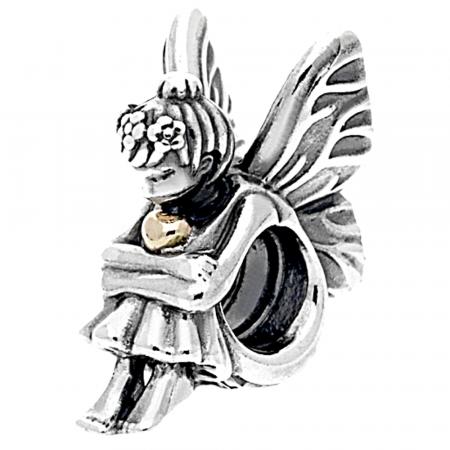 Pandora Fatina Charm Originale Oro 14k Argento 791206