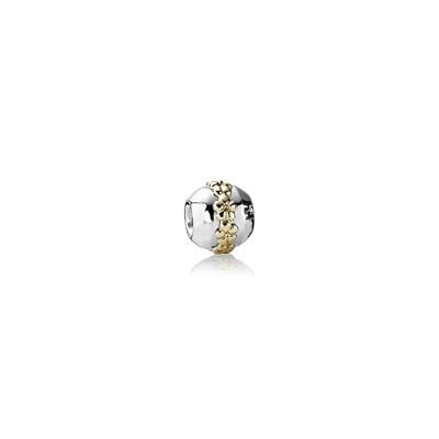 Pandora Ghirlanda di Fiori Charm Originale Oro 14k Argento 790179
