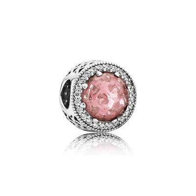 Pandora Gioiello Rosa Antico Charm Originale Argento 791725NBP