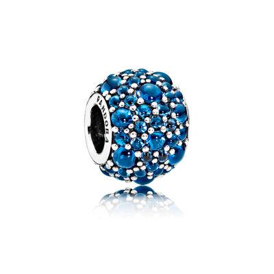 Pandora Gocce Scintillanti Blu Intenso Charm Originale 791755NLB