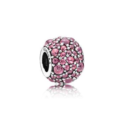 Pandora Gocce Scintillanti Rosa Caprifoglio Originale 791755HCZ