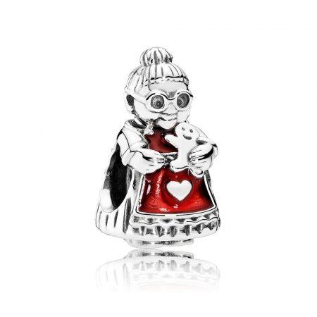Pandora Mamma Natale Charm Originale Argento 792005EN07