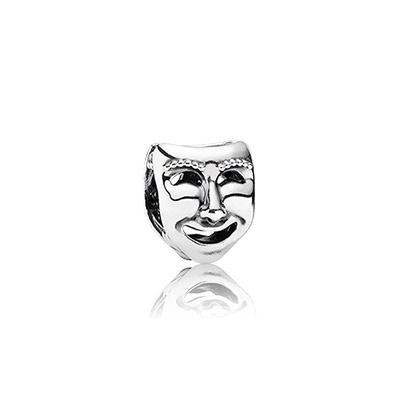 Pandora Maschera Teatrale Charm Originale Argento Sterling 791177