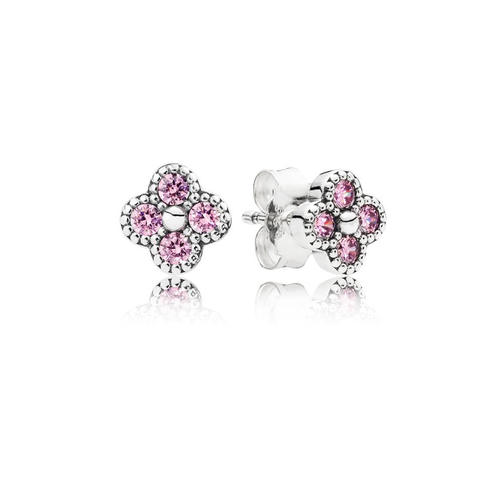 pandora rose orecchini