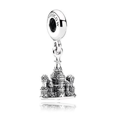 Pandora Pendente Cattedrale Charm Originale Argento Sterling 791141