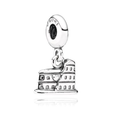 Pandora Pendente Colosseo Charm Originale Argento Sterling 791079
