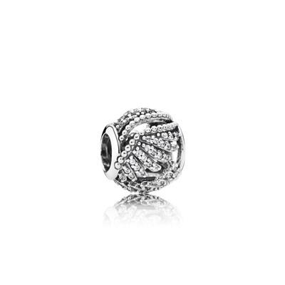 Pandora Piume Reali Charm Originale Argento Sterling 791749CZ