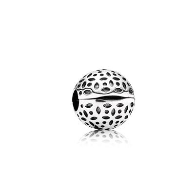Pandora Clip Pizzo Originale Argento Sterling 791011