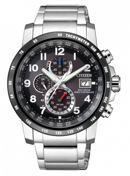 Orologio Citizen Eco-Drive Cronografo Radiocontrollato AT8124-83E