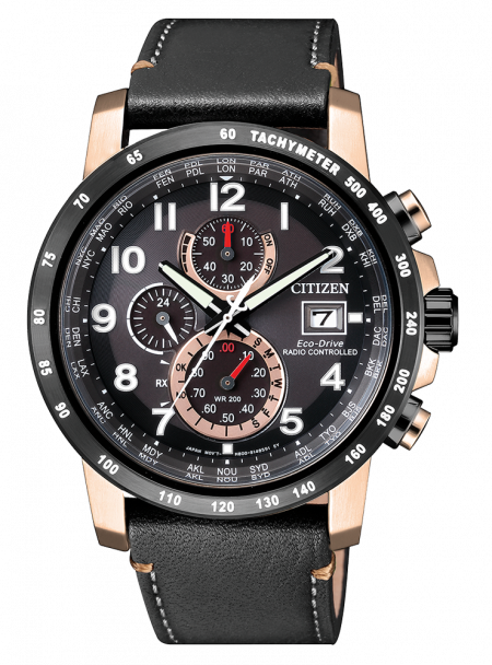 Orologio Citizen Eco-Drive Cronografo Radiocontrollato AT8126-02E