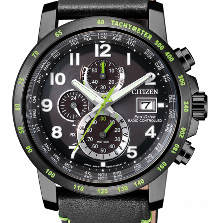 Orologio Citizen Eco-Drive Cronografo Radiocontrollato AT8128-07E