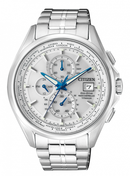 Orologio Citizen Eco-Drive Radiocontrollato Titanio AT8130-56A