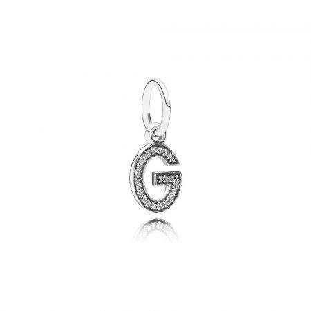 Pandora Charm Pendente G Originale Argento Sterling 791319CZ