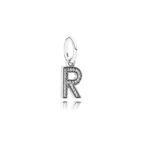 Pandora Charm Pendente R Originale Argento Sterling 791330CZ