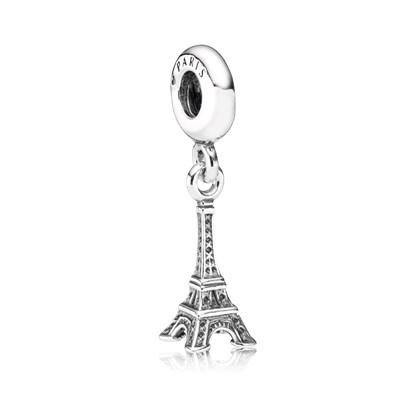 Pandora Charm Pendente Tour Eiffel Originale Argento Sterling 791082