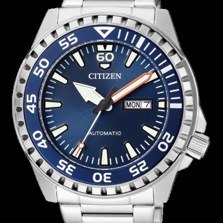 Orologio Citizen Diver Meccanico Automatico Acciaio NH8389-88L