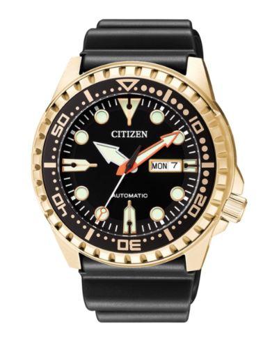 Orologio Citizen Diver Meccanico Automatico PVD Dorato NH8383-17E