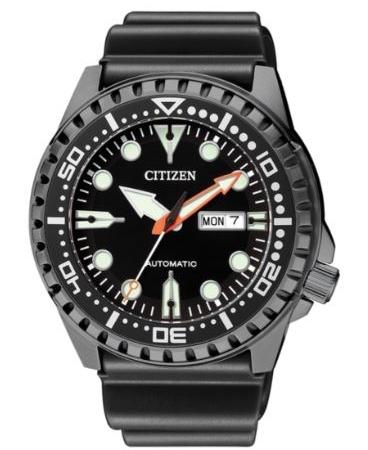 Orologio Citizen Diver Meccanico Automatico PVD Nero NH8385-11E