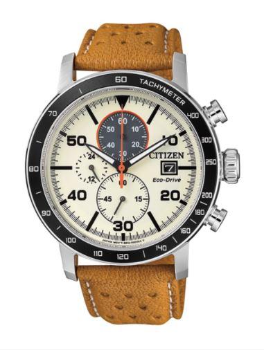 Orologio Citizen Eco-Drive Cronografo Acciaio CA0641-16X
