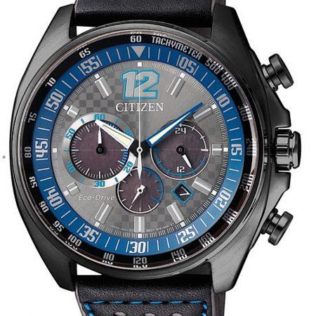 Orologio Citizen Eco-Drive Cronografo PVD Nero CA4199-17H