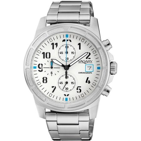 Orologio Vagary Sport Cronografo Impermeabile Acciaio IA9-411-11